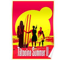 Tatooine Summer II Poster