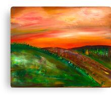 Three Hills Canvas Print