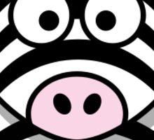 Cute Zebra Animal sticker! Sticker