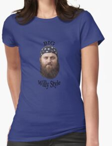 Big Willy Style 2  Womens Fitted T-Shirt