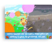 The Lorax Metal Print
