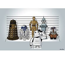 Droid Lineup Photographic Print