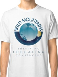 Wild Mountains - Inspiring, Educating, Conserving Classic T-Shirt
