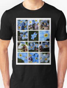 Forget-Me-Nots Montage 1 T-Shirt
