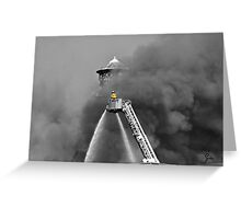 """"""" A Smokey Disposition """" Greeting Card"""