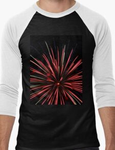 Fireworks 2 Men's Baseball ¾ T-Shirt