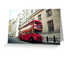 Routemaster Greeting Card