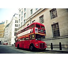 Routemaster Photographic Print