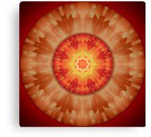Aztec Cloud Mandala Canvas Print