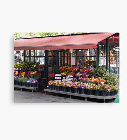 Flower Seller Canvas Print