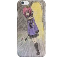 Anime Girl as Death iPhone Case/Skin