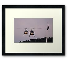 Royal Australian Navy Helicopters, Skyfire 2013 Canberra Australia  Framed Print