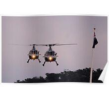 Royal Australian Navy Helicopters, Skyfire 2013 Canberra Australia  Poster