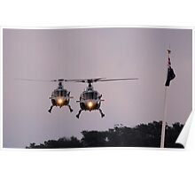Royal Australian Navy Helicopters, Skyfire 2013 Canberra Australia  Poster