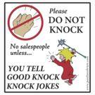 Do Not Knock by Pauline O'Brien