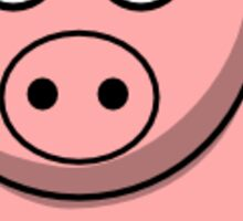 Cute Pig Animal sticker! Sticker