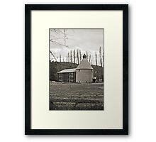 Oast House—New Norfolk, Tasmania Framed Print
