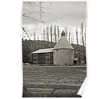Oast House—New Norfolk, Tasmania Poster