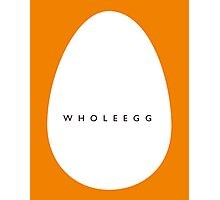 whole egg Photographic Print
