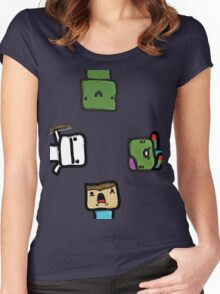 Minecraft Women's Fitted Scoop T-Shirt