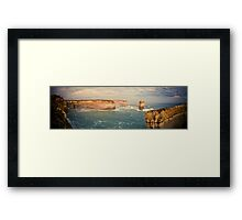 Australia - Great Ocean Road Panorama - II Framed Print