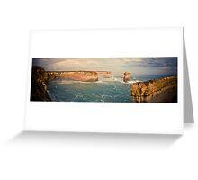 Australia - Great Ocean Road Panorama - II Greeting Card