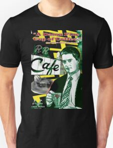 "Twin Peaks Agent Cooper ""A Damn FIne Cup of Coffee"" T-Shirt"