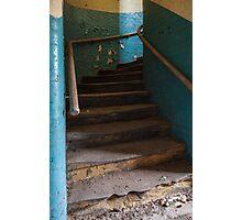 worn steps  Photographic Print