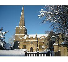 Stanton Church, Broadway, Worcestershire Photographic Print