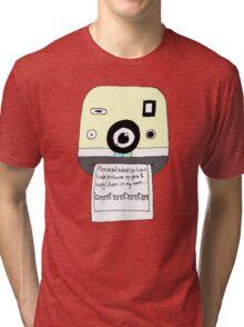 The Front Bottoms - Flashlight Tri-blend T-Shirt
