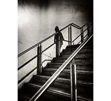 Descending Shadow Photographic Print