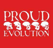 Proud Evolution White Skulls Kids Clothes
