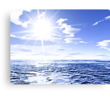 Sunshine and global warming Canvas Print