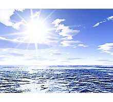 Sunshine and global warming Photographic Print