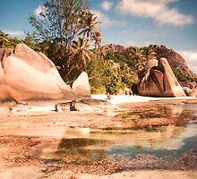 Seychelles. Anse Source d' Argent . La Digue. by terezadelpilar~ art & architecture