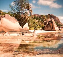 Seychelles. Anse Source d' Argent . La Digue. by terezadelpilar~ art & architecture