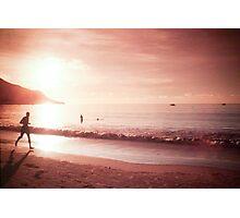 Seychelles sunset. Photographic Print