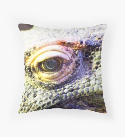Dragons eye Throw Pillow