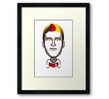 Bayern Munich - Muller Framed Print