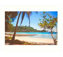 Seychelles. Art Print