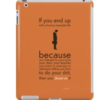 If your life sucks... iPad Case/Skin