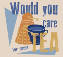 Dalek with Tea by cl-productions