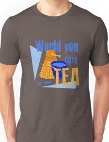 Dalek with Tea Unisex T-Shirt