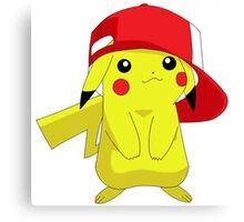 pokemon-pikachu Canvas Print