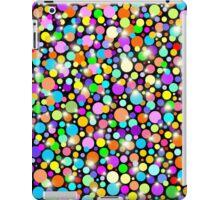 Psychedelic Colors Bright Polka Dots iPad Case/Skin