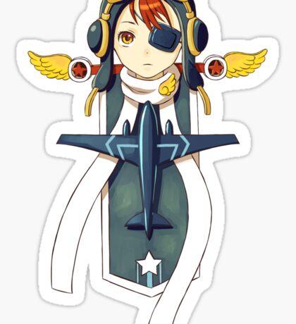 Pilot Banner Sticker