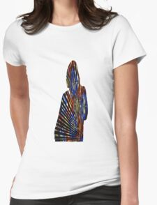 Cool T-shirt Print Womens Fitted T-Shirt