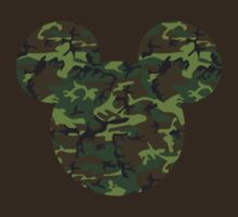 Camoflage Mickey Mouse by sweetsisters