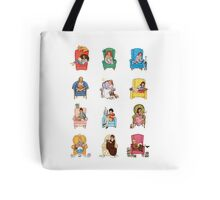 Reading fictional characters Tote Bag
