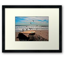 Perfect Beach Day! Framed Print